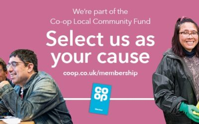 Support us when you shop at Co-op